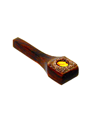 Coconut And Wood Pipe Square