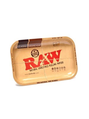 Raw Metal Rolling Tray