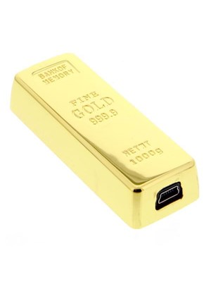Gold Bar Usb E-Lighter