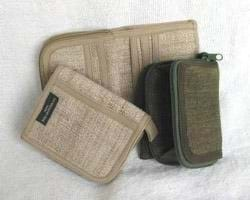 Hemp Wallet With Coin Pouch